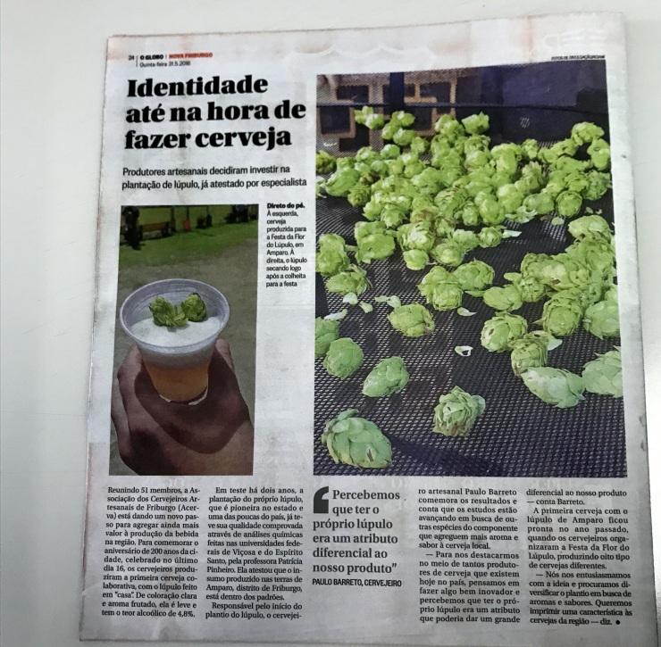 Reportagem Jornal O Globo 31 05 18 1